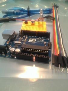 Arduino met onderdelenpakket